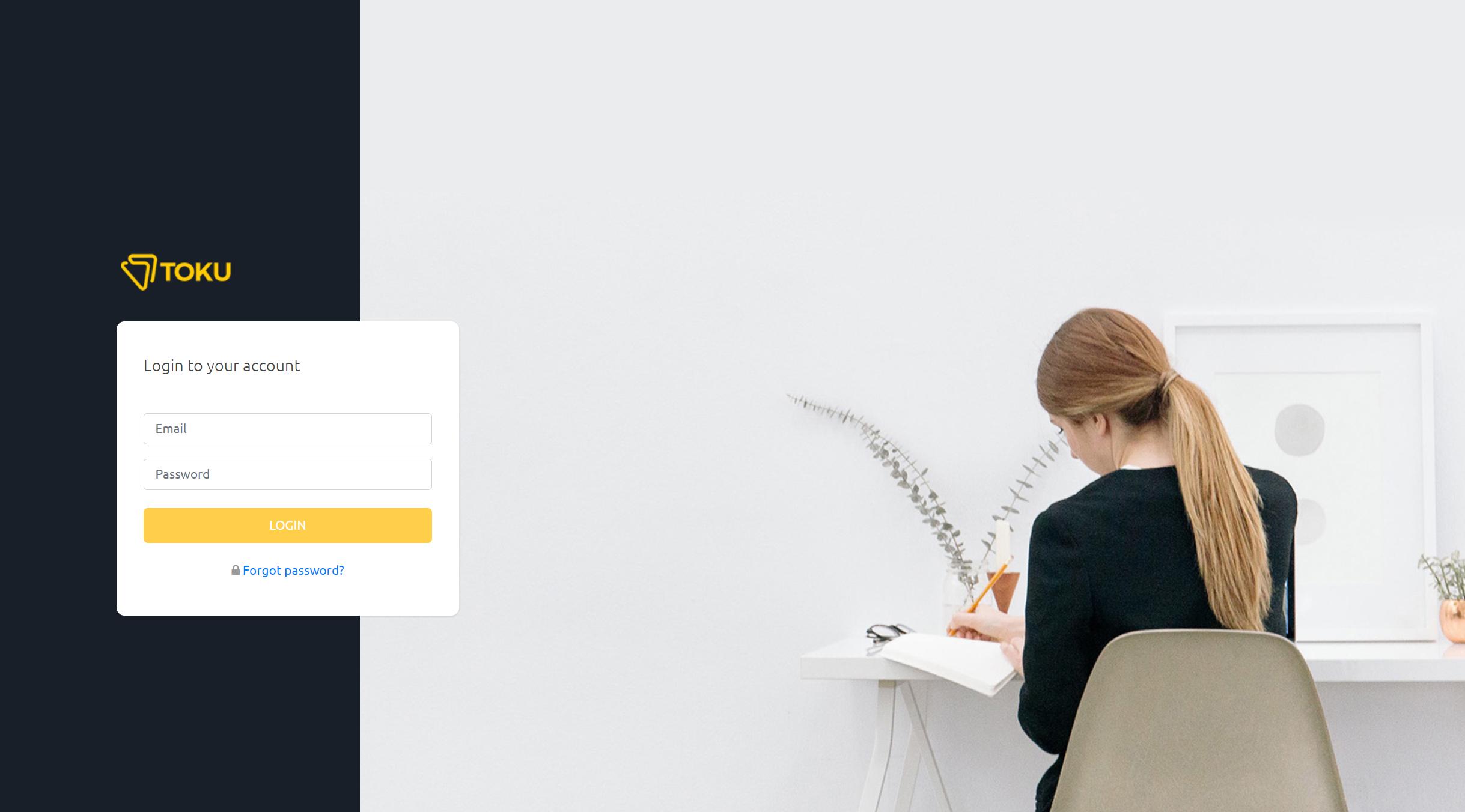 Customer Portal Home Screen 1